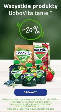 Tydzień z marką BOBOVITA PROMOCJA => Apteka-Melissa.pl