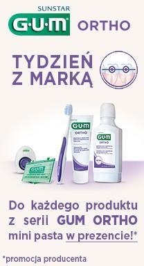 Tydzień z marką SUNSTAR GUM ORTHO => Apteka-Melissa.pl