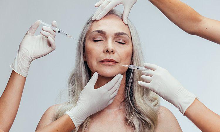 Zabiegi z botoksem na twarz i okolice oczu