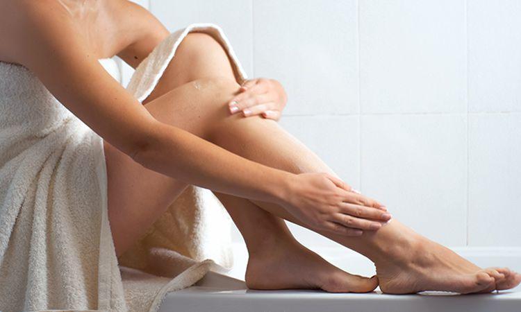 Sucha skóra na ciele i sposoby na jej nawilżenie