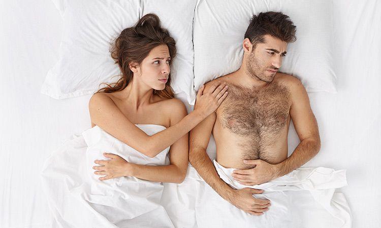 Przyczyny braku erekcji - jak je zniwelować?