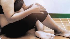 Z przeciążonymi stawami z powodu nadwagi