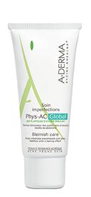 A-DERMA PHYS-AC GLOBAL Krem do pielęgnacji skóry trądzikowej i tłustej - 40 ml - Apteka internetowa Melissa
