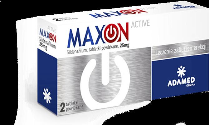 Maxon Active 2 tabletki powlekane – apteka internetowa Melissa