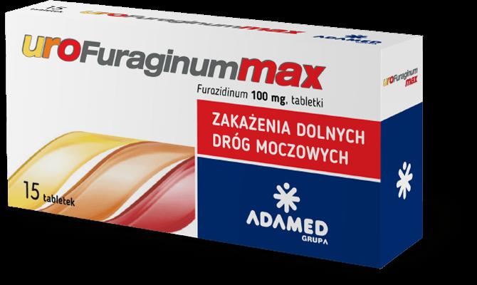 Urofuraginum MAX 15 tabletek – apteka internetowa Melissa