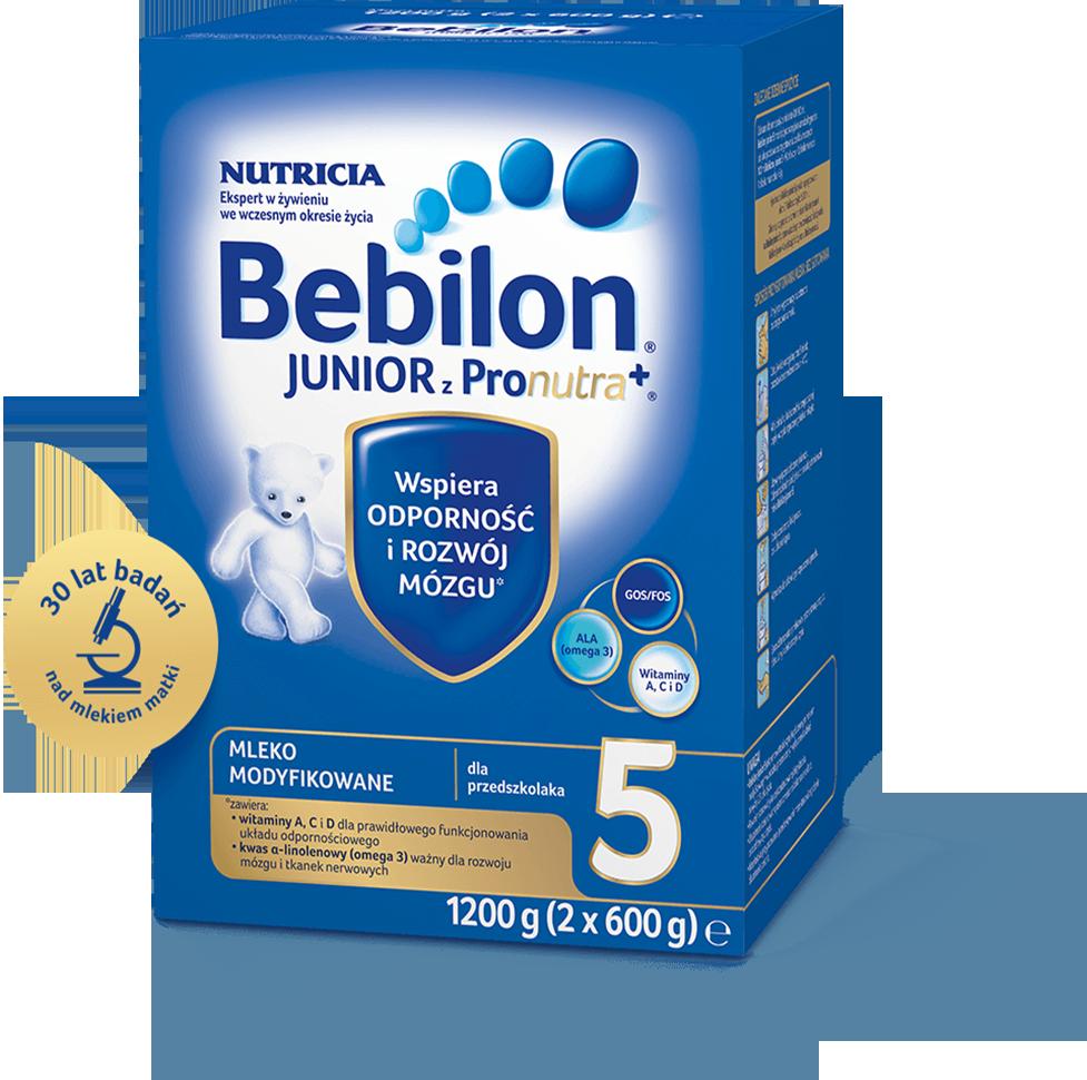BEBILON 5 JUNIOR Z PRONUTRA+ Mleko modyfikowane w proszku - 1200 g  - Apteka internetowa Melissa