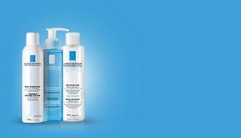 La Roche-Posay laboratorium dermatologiczne -Oczyszczanie wrażliwej skóry twarzy