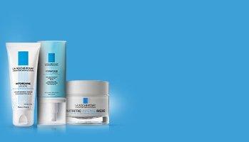 La Roche-Posay laboratorium dermatologiczne - Nawilżenie i odżywianie wrażliwej skóry twarzy