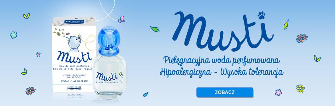 Musti® – pielęgnacyjna woda perfumowana – Apteka internetowa Melissa