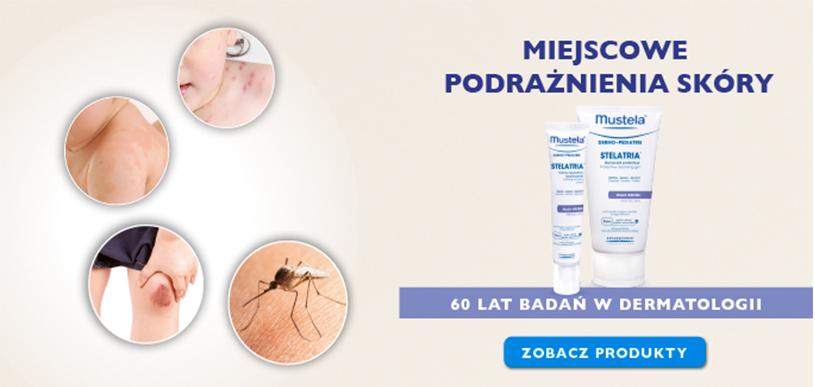Mustela – produkty na miejscowe podrażnienia skóry – Apteka internetowa Melissa