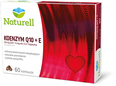 Naturell - Koenzym Q10 + E – apteka internetowa Melissa