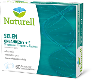 Naturell Selen Organiczny + E