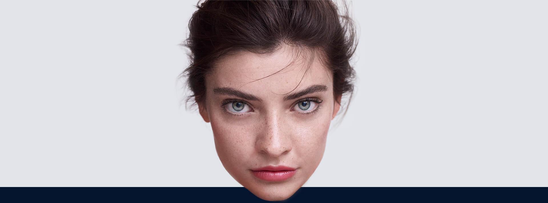 loreal twarz przed