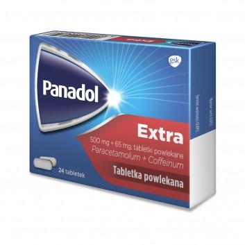 PANADOL EXTRA Lek przeciwbólowy - 24 tabl. - obrazek 3 - Apteka internetowa Melissa