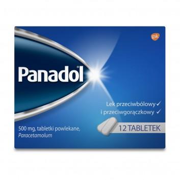 PANADOL Lek przecwibólowy - 12 tabl. - obrazek 2 - Apteka internetowa Melissa