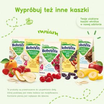 BoboVita Smaczna Kolacja Kaszka mleczno-ryżowa 3 owoce po 6. miesiącu - 230 g - cena, opinie, właściwości - obrazek 4 - Apteka internetowa Melissa