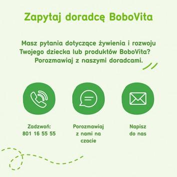 BoboVita Smaczna Kolacja Kaszka mleczno-ryżowa 3 owoce po 6. miesiącu - 230 g - cena, opinie, właściwości - obrazek 7 - Apteka internetowa Melissa