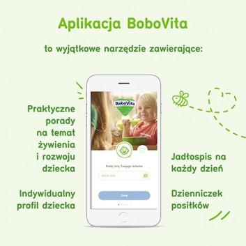 BoboVita Smaczna Kolacja Kaszka mleczno-ryżowa 3 owoce po 6. miesiącu - 230 g - cena, opinie, właściwości - obrazek 8 - Apteka internetowa Melissa