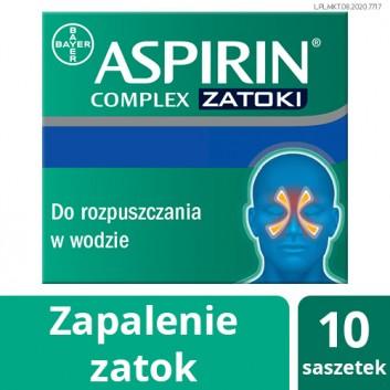 ASPIRIN COMPLEX - 10 sasz. Data ważności 2021-08-30 - obrazek 1 - Apteka internetowa Melissa