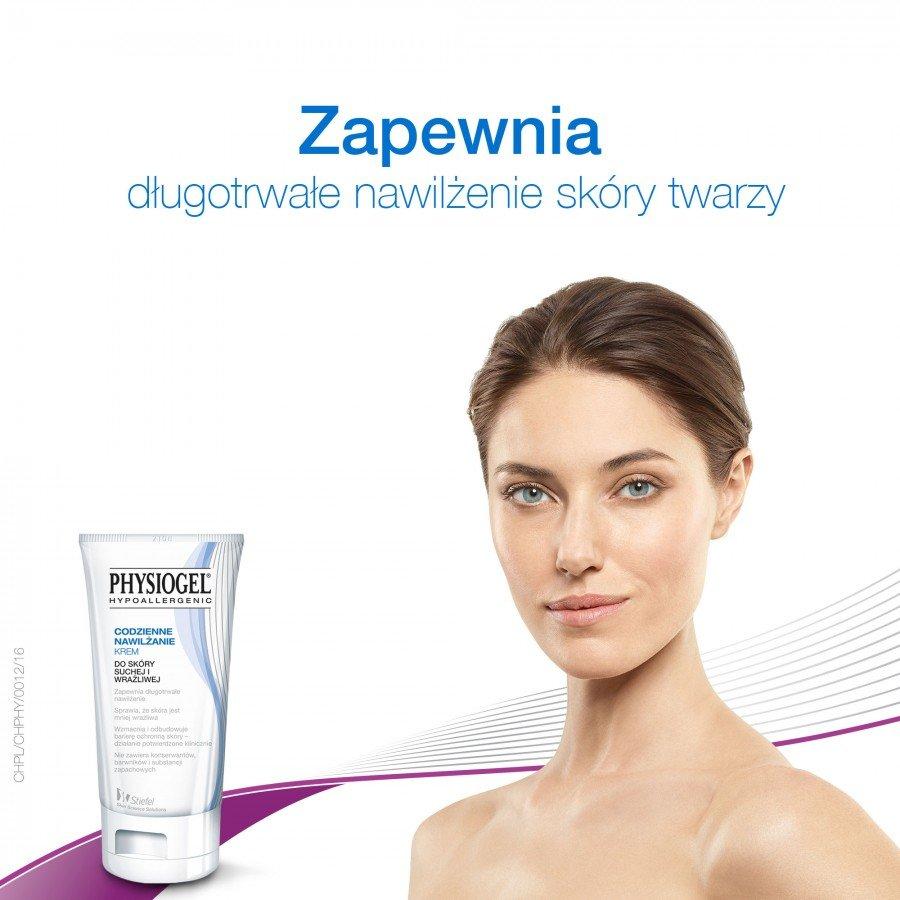PHYSIOGEL Krem codzienne nawilżenie - 75 ml Do suchej skóry - cena, opinie, właściwości - obrazek 3 - Apteka internetowa Melissa