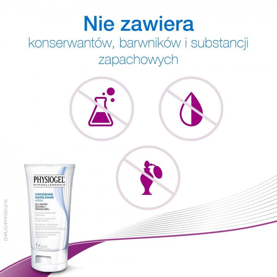 PHYSIOGEL Krem codzienne nawilżenie - 75 ml Do suchej skóry - cena, opinie, właściwości - obrazek 5 - Apteka internetowa Melissa