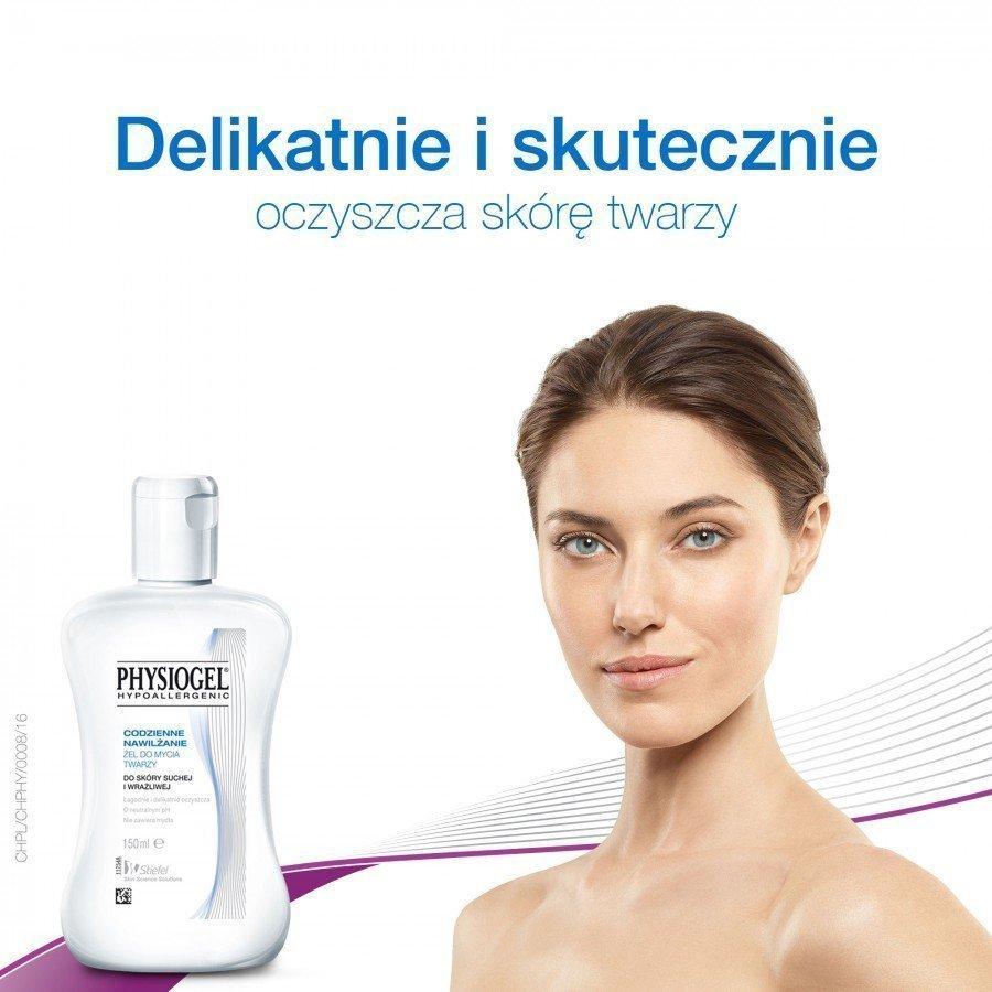 PHYSIOGEL Żel do mycia twarzy - 150 ml - obrazek 3 - Apteka internetowa Melissa