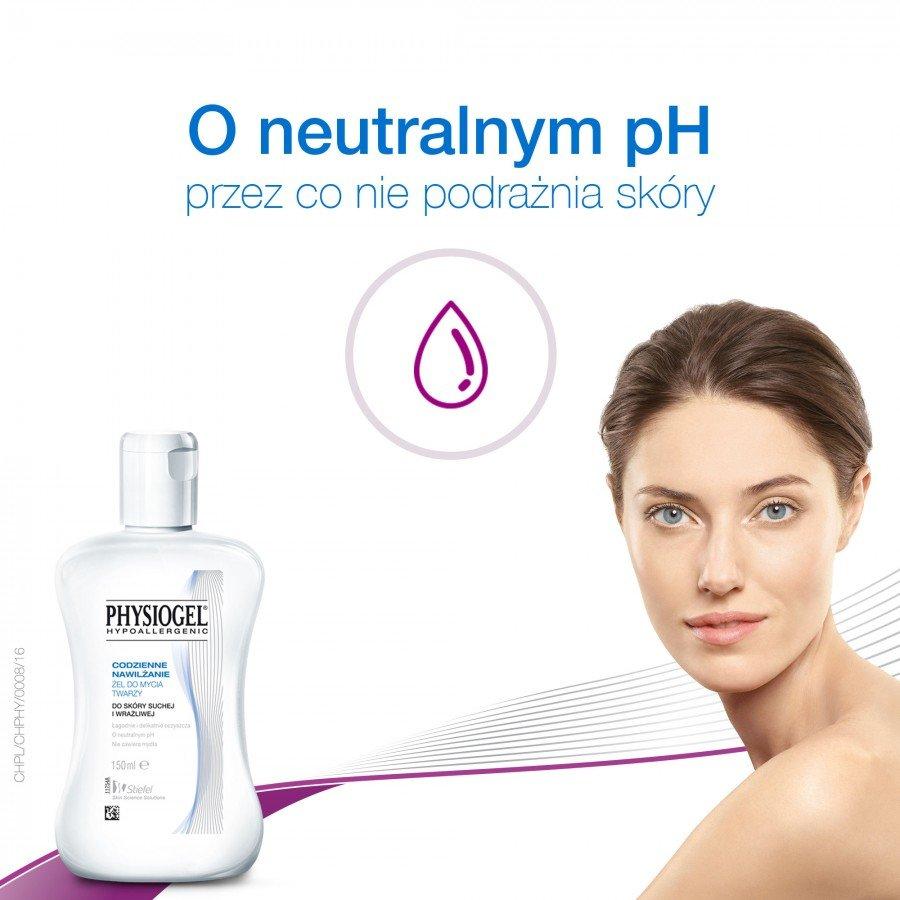 PHYSIOGEL Żel do mycia twarzy - 150 ml - obrazek 5 - Apteka internetowa Melissa