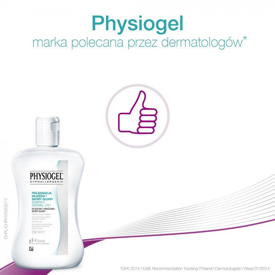 PHYSIOGEL Szampon hipoalergiczny z odżywką - 250 ml - Apteka internetowa Melissa