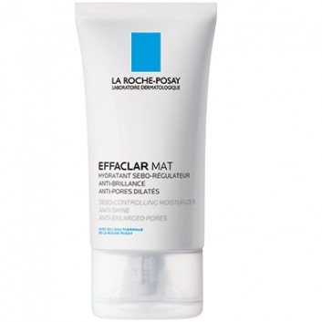 LA ROCHE-POSAY EFFACLAR MAT Seboregulujący krem przeciw błyszczeniu skóry - 40 ml + LA ROCHE-POSAY EFFACLAR ŻEL 50 ml - obrazek 1 - Apteka internetowa Melissa