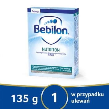 Bebilon Nutriton Preparat zagęszczający - 135 g - obrazek 1 - Apteka internetowa Melissa