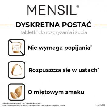 Mensil 25mg - 4 tabl. - lek na zaburzenia wzwodu - cena, opinie, wskazania - obrazek 3 - Apteka internetowa Melissa
