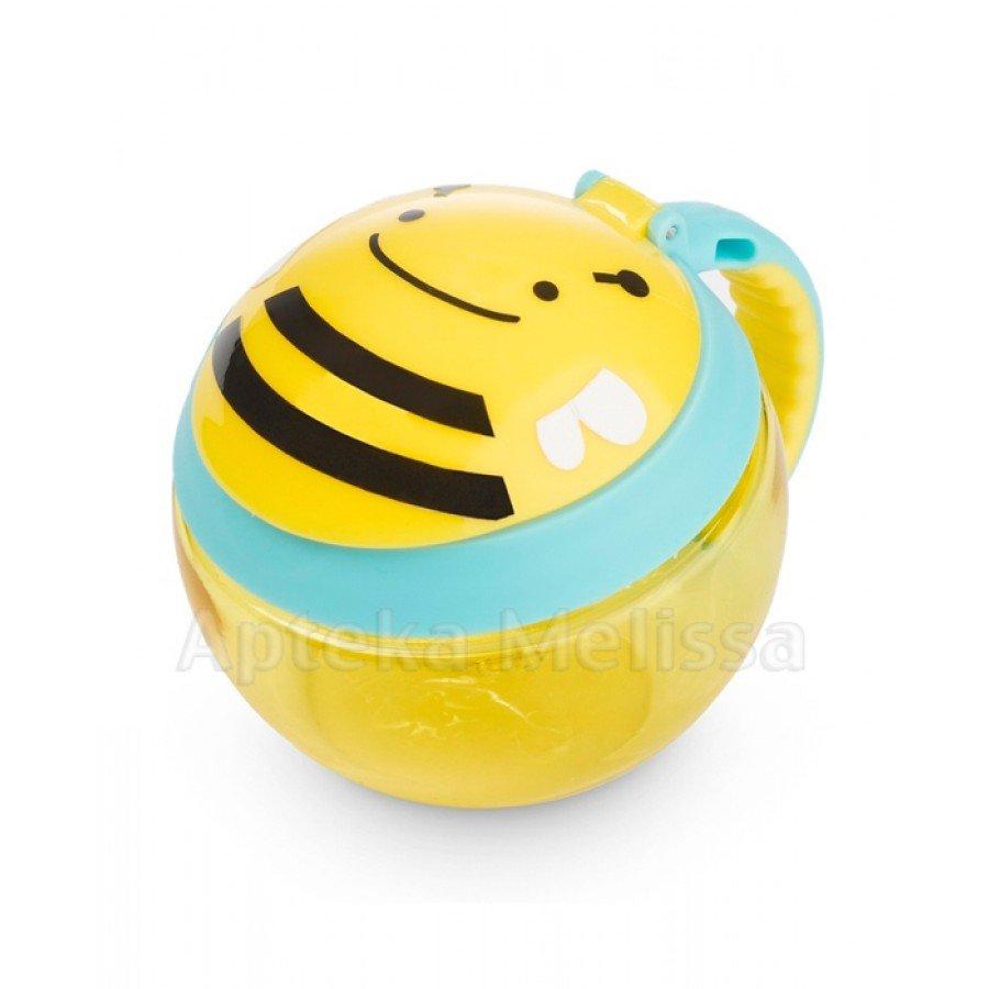 SKIP HOP Kubek niewysypek pszczoła - 1 szt. - obrazek 1 - Apteka internetowa Melissa
