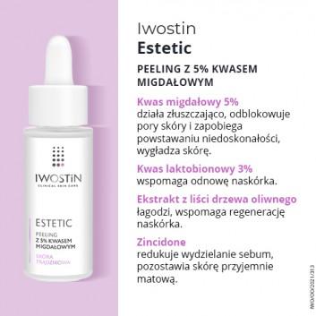 IWOSTIN ESTETIC Peeling z 5% kwasem migdałowym - 30 ml - obrazek 4 - Apteka internetowa Melissa