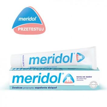 MERIDOL Pasta do zębów - 75 ml - cena, opinie, wskazania - obrazek 1 - Apteka internetowa Melissa
