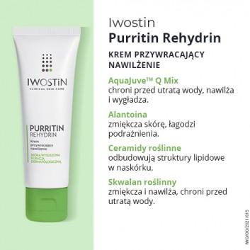IWOSTIN PURRITIN REHYDRIN Żel nawilżający do mycia twarzy - 150 ml - obrazek 3 - Apteka internetowa Melissa
