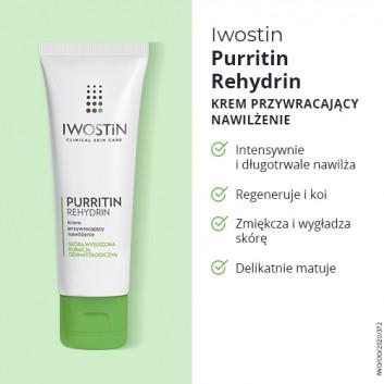 IWOSTIN PURRITIN REHYDRIN Żel nawilżający do mycia twarzy - 150 ml - obrazek 4 - Apteka internetowa Melissa