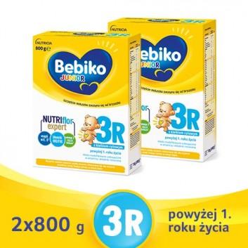 BEBIKO 3R JUNIOR Mleko modyfikowane następne dla niemowląt - 2x800 g - cena, opinie, właściwości  - obrazek 1 - Apteka internetowa Melissa