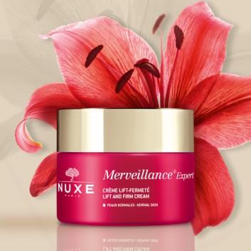 NUXE MERVEILLANCE EXPERT Krem do skóry normalnej - 50 ml Krem przeciwzmarszczowy - cena, opinie, właściwości - obrazek 2 - Apteka internetowa Melissa