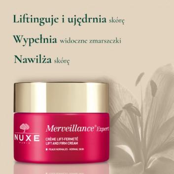 NUXE MERVEILLANCE EXPERT Krem do skóry normalnej - 50 ml Krem przeciwzmarszczowy - cena, opinie, właściwości - obrazek 3 - Apteka internetowa Melissa