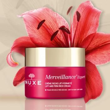 NUXE MERVEILLANCE EXPERT ENRICHE - 50 ml + NUXE Perfum Huile Prodigieuse 30ml - obrazek 2 - Apteka internetowa Melissa