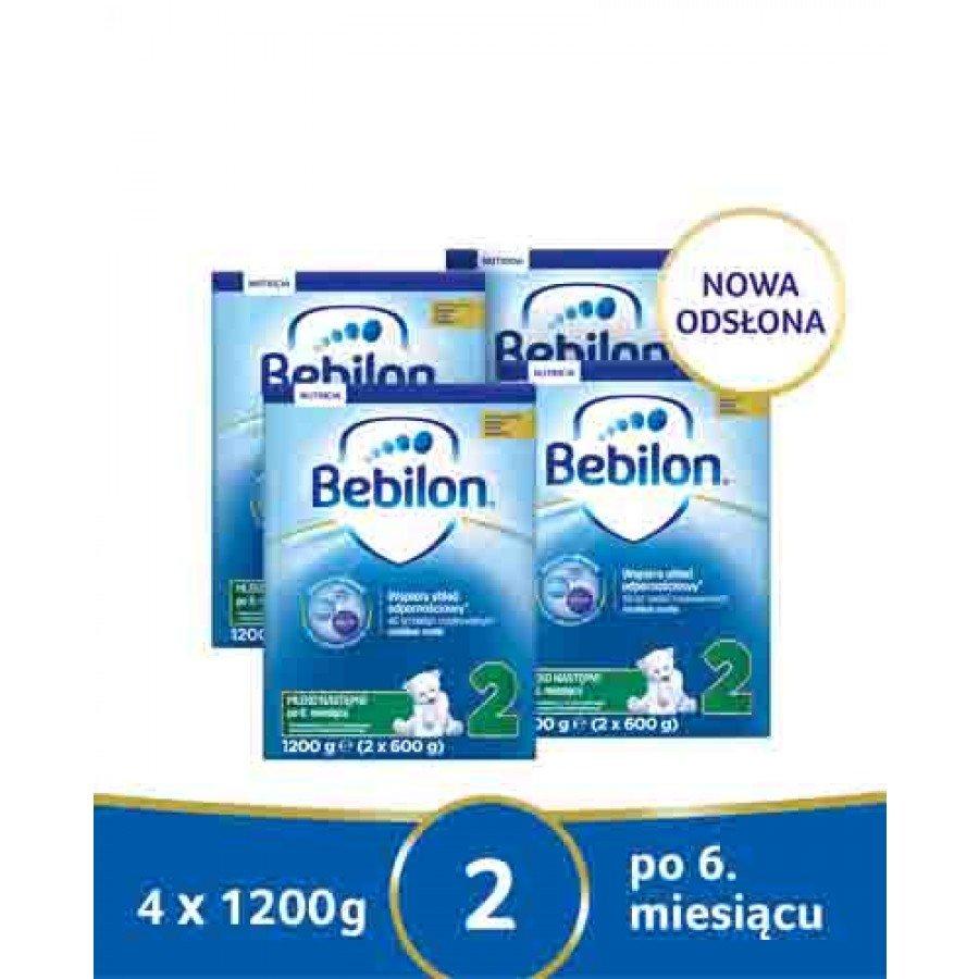 BEBILON 2 Pronutra-Advance Mleko modyfikowane w proszku - 4x1200g - obrazek 1 - Apteka internetowa Melissa