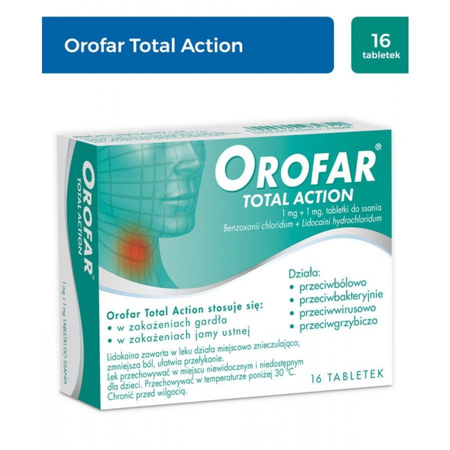 OROFAR TOTAL ACTION - 16 past. do ssania - obrazek 1 - Apteka internetowa Melissa