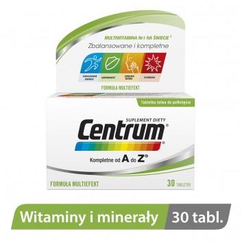 CENTRUM A-Z Multiefekt - 30 tabl. - obrazek 2 - Apteka internetowa Melissa