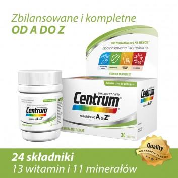 CENTRUM A-Z Multiefekt - 30 tabl. - obrazek 3 - Apteka internetowa Melissa