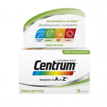 CENTRUM A-Z Multiefekt - 30 tabl. - obrazek 1 - Apteka internetowa Melissa