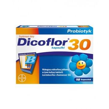 Dicoflor 30 - 10 kapsułek - obrazek 2 - Apteka internetowa Melissa