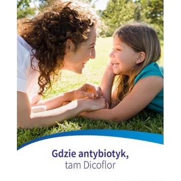 DICOFLOR 30 - 10 kaps. W antybiotykoterapii u dzieci i niemowląt. Data ważności 2021.03.31 - obrazek 7 - Apteka internetowa Melissa