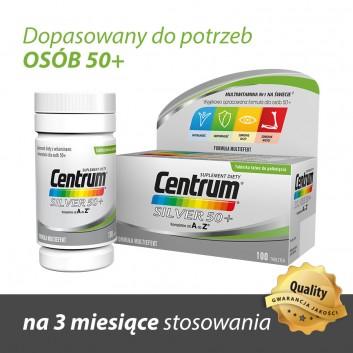 CENTRUM Silver 50+ Formuła Multiefekt - 100 tabl. - obrazek 3 - Apteka internetowa Melissa