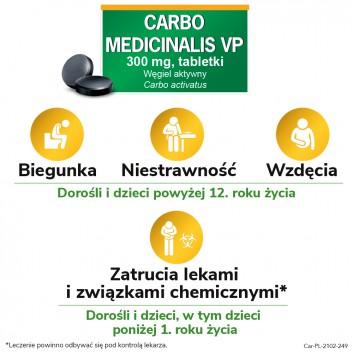 CARBO MEDICINALIS Węgiel leczniczy - 20 tabl. - obrazek 3 - Apteka internetowa Melissa