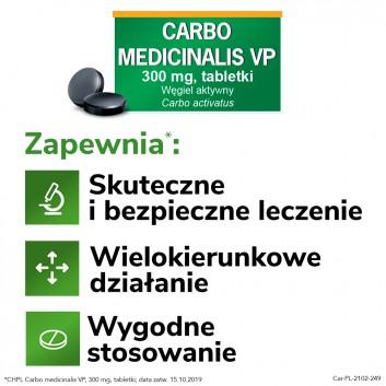 CARBO MEDICINALIS Węgiel leczniczy - 20 tabl. - obrazek 5 - Apteka internetowa Melissa
